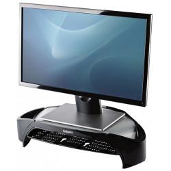 Soporte para monitor fellowes plus smart suites en color negro/blanco escarcha.