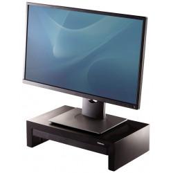 Soporte para monitor fellowes designer suites en color negro.