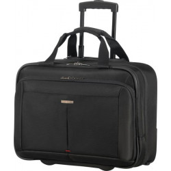 "Maletin samsonite guardit 2.0 para portatil de 17,3"" con ruedas en color negro."