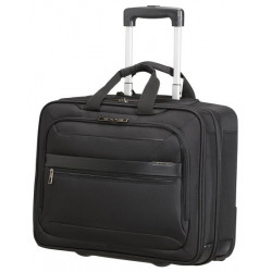 "Maletin samsonite vectura evo para portatil de 17,3"" con ruedas en color negro."