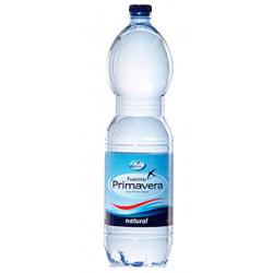 Agua mineral natural fuente primavera, botella de 1,5 l.
