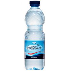 Agua mineral natural fuente primavera, botella de 330 ml.