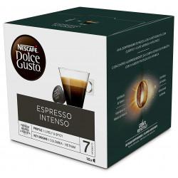 Café monodosis dolce gusto café espresso intenso, caja de 16 unidades.