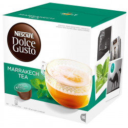 Té monodosis dolce gusto marrakesh, caja de 16 unidades.