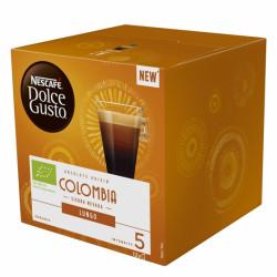 Café monodosis dolce gusto café origen colombia, caja de 12 unidades.
