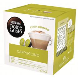 Café monodosis dolce gusto café capuchino, caja de 8 unidades.