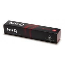 Cafe capsulas monodosis delta qalidus intensidad 10, caja de 10 unidades.