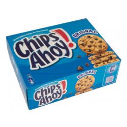Galletas chips ahoy, paquete de 2 bolsas con 14 galletas.