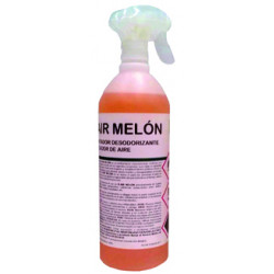 Ambientador spray ikm k-air fragancia melón, botella de 1 litro.