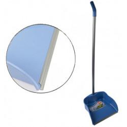 Recogedor con perfil de goma y palo de 23 cm.