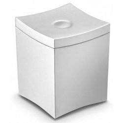 Caja para infusiones cep en poliestireno con tapa desmontable color gris.