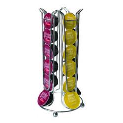 Dispensador ibili para capsulas dolce gusto capacidad 24 unidades.