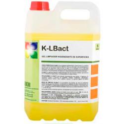 Limpiador higienizante desodorizante ikm, garrafa 5 litros.
