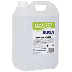 Limpiacristales buga clean, garrafa de 5 litros.