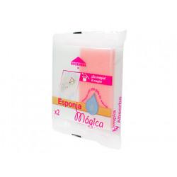 Esponja magica rozenbal bicapa, pack de 2 unidades.