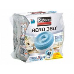 Recambio de pastilla para deshumificador rubson aero 360 aroma fruta.