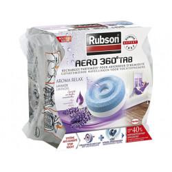 Recambio de pastilla para deshumificador rubson aero 360 aroma lavanda.