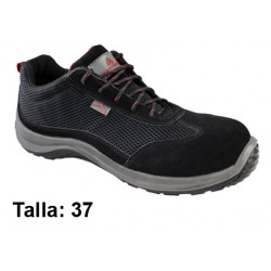 Calzado de seguridad deltaplus asti s1p, talla nº 37, color negro.