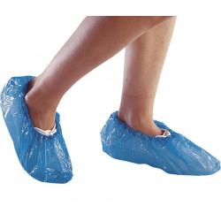 Cubrezapatos para visitante deltaplus surchpe, talla única, color azul, bolsa de 50 pares.