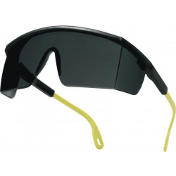 Gafas de protección deltaplus kilimandjaro smoke, policarbonato ahumado.