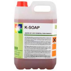 Limpiador jabon ikm para manos, garrafa 5 litros.
