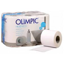 Papel higiénico doméstico olimpic, 2 capas, 90 mm. x 18 mts.
