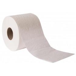 Papel higiénico doméstico goma-camps confordeco 100% celulosa virgen, 2 capas, 90 mm. x 22,4 mts. color blanco.