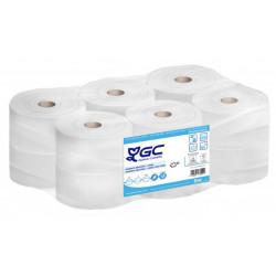Papel higiénico industrial goma-camps ecologic+ 100% celulosa reciclada, 2 capas, ??? mm. x 161 mts. color blanco.