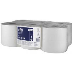 Papel higiénico industrial mini jumbo tork universal, 1 capa, 90 mm. x 290 mts. color blanco.
