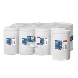 Papel secamanos extra tork advanced, 2 capas, 215 mm. x 74,9 mts. color blanco.