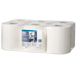 Papel secamanos extra tork advanced, 2 capas, 205 mm. x 150 mts. color blanco.