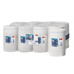 Papel secamanos extra tork advanced, 1 capa, 215 mm. x 120 mts. color blanco.