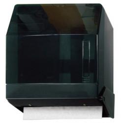 Dispensador para toallas de mano q-connect en plástico, color negro.