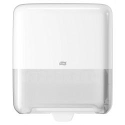 Dispensador para toallas de mano en rollo tork matic elevatión h1, color blanco.