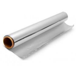 Papel de aluminio rollo de 30 cm. x 30 mts.