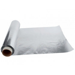 Papel de aluminio rollo de 30 cm. x 300 mts.