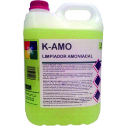 Limpiador amoniacal ikm garrafa de 5 litros.