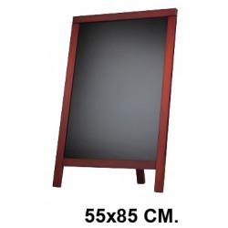 Pizarra caballete para hostelería liderpapel en formato 55x85 cm.