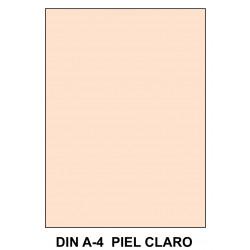 Goma eva liderpapel en formato din a-4 de 60 grs/m². color piel claro, paquete de 10 uds.