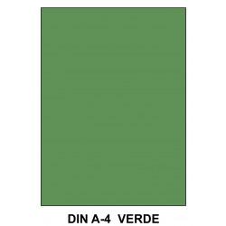 Goma eva liderpapel en formato din a-4 de 60 grs/m². color verde, paquete de 10 uds.