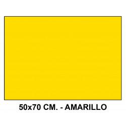 Goma eva liderpapel en formato 50x70 cm. de 60 grs/m². color amarillo.