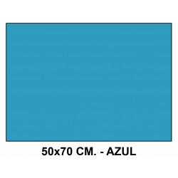 Goma eva liderpapel en formato 50x70 cm. de 60 grs/m². color azul.
