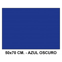 Goma eva liderpapel en formato 50x70 cm. de 60 grs/m². color azul oscuro.