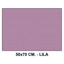 Goma eva liderpapel en formato 50x70 cm. de 60 grs/m². color lila.