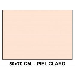 Goma eva liderpapel en formato 50x70 cm. de 60 grs/m². color piel claro.