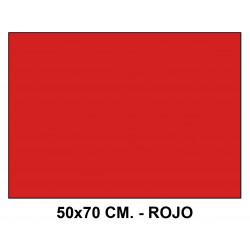 Goma eva liderpapel en formato 50x70 cm. de 60 grs/m². color rojo.