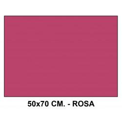 Goma eva liderpapel en formato 50x70 cm. de 60 grs/m². color rosa.