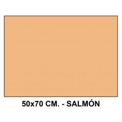 Goma eva liderpapel en formato 50x70 cm. de 60 grs/m². color salmón.
