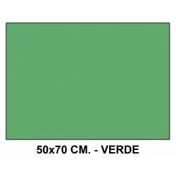 Goma eva liderpapel en formato 50x70 cm. de 60 grs/m². color verde.