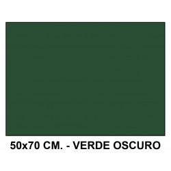 Goma eva liderpapel en formato 50x70 cm. de 60 grs/m². color verde oscuro.